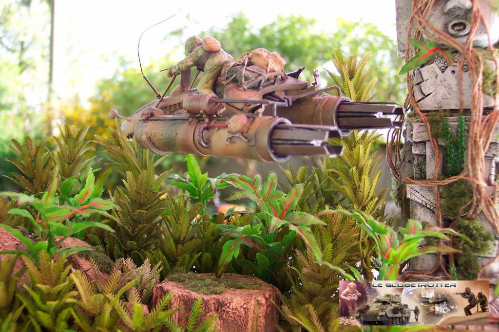 Scout Keal X1124 - Scratch 1/35 - Figurine Tamiya Dio-keal---c001
