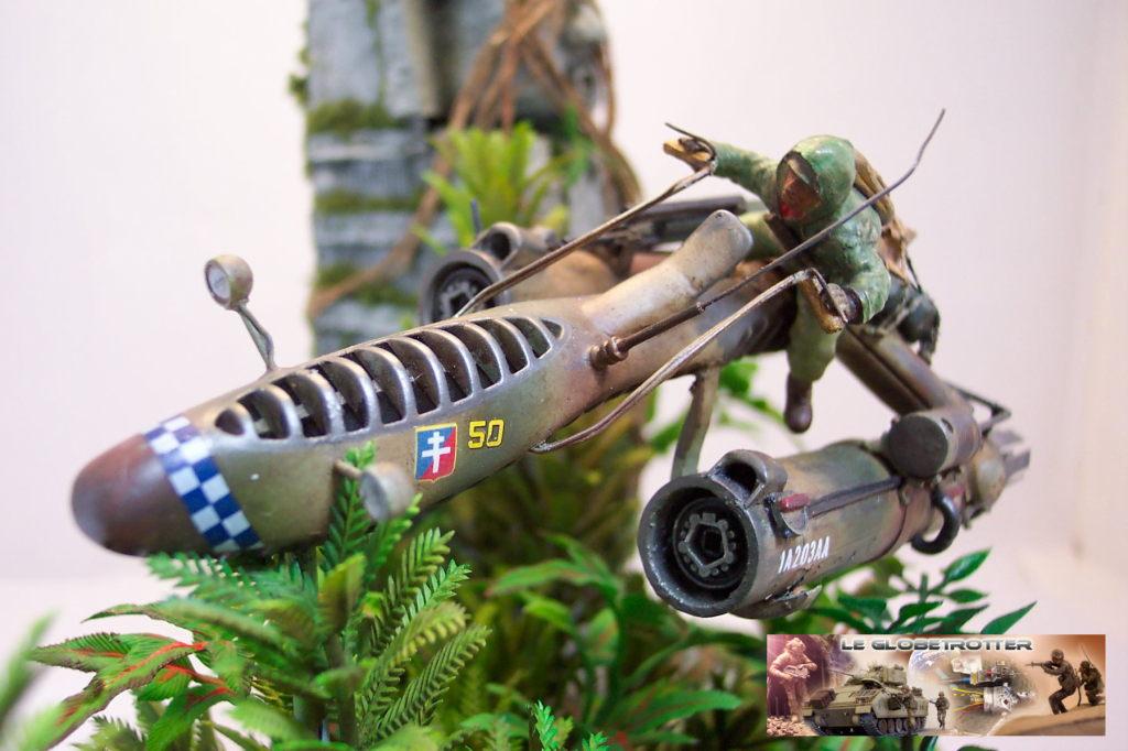 Scout Keal X1124 - Scratch 1/35 - Figurine Tamiya Dio-keal---d009