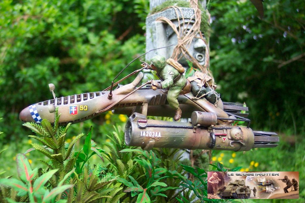 Scout Keal X1124 - Scratch 1/35 - Figurine Tamiya Dio-keal---d026
