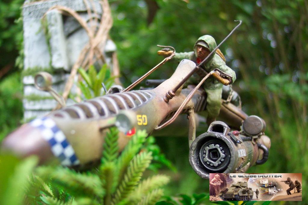 Scout Keal X1124 - Scratch 1/35 - Figurine Tamiya Dio-keal---d029