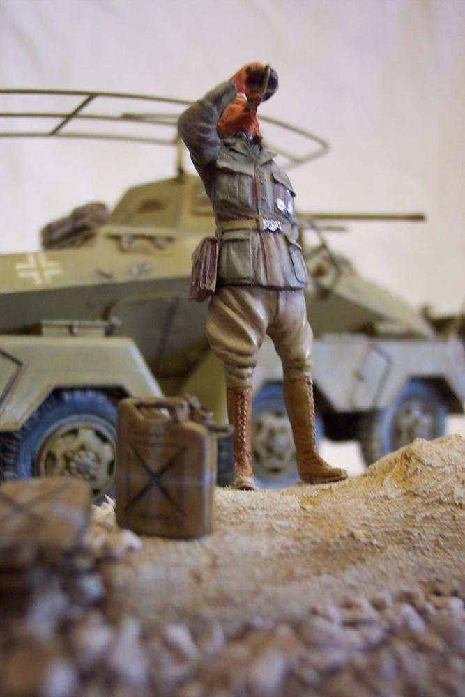 Sd.Kfz 232, Soif dans le désert - Tamiya 1/35 Sdkfz23204