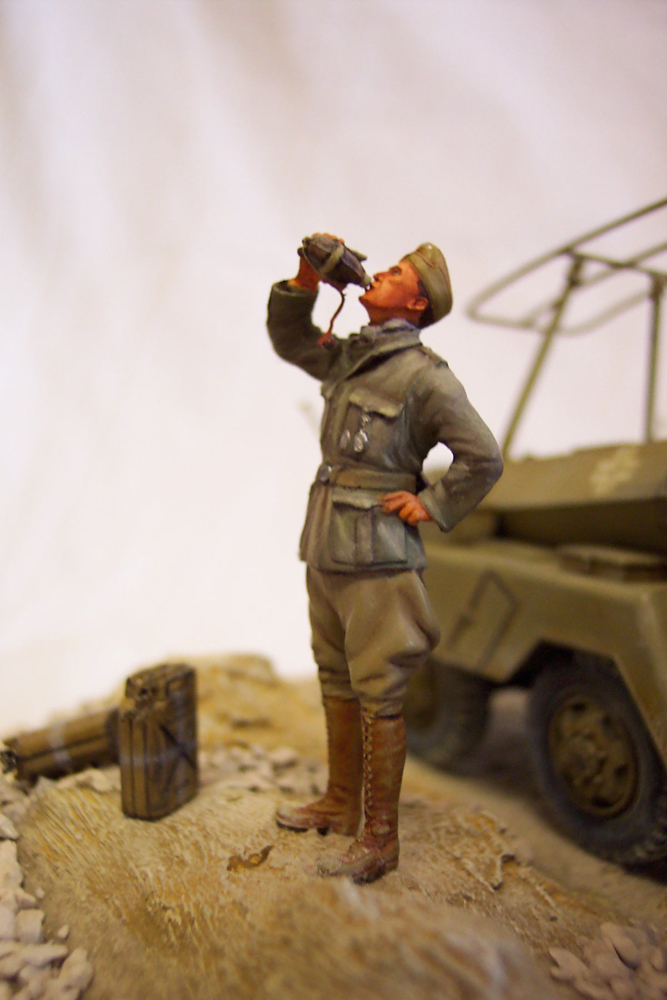 Sd.Kfz 232, Soif dans le désert - Tamiya 1/35 Sdkfz23205