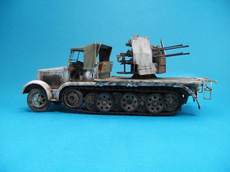 Sd-Kfz 7/1 - Tamiya 1/35 Sd-7-1--a-022