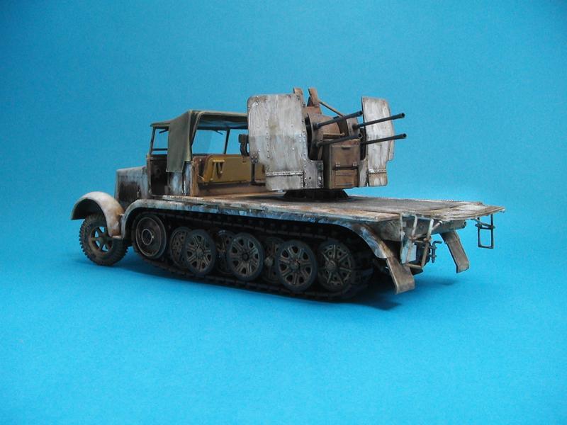 Sd-Kfz 7/1 - Tamiya 1/35 Sd-7-1--a-023