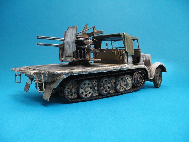 Sd-Kfz 7/1 - Tamiya 1/35 Sd-7-1--a-025